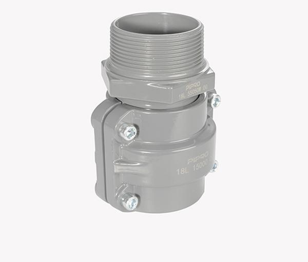 PIPRO铝合金超级管道外螺纹接头A