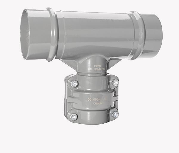 PIPRO铝合金超级管道异径三通BA